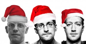 Which one is the real Panopti-Claus? (See below for answer.)
