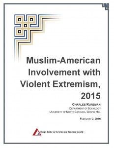 Kurzman_Muslim-American_Involvement_in_Violent_Extremism_2015_Title_Page